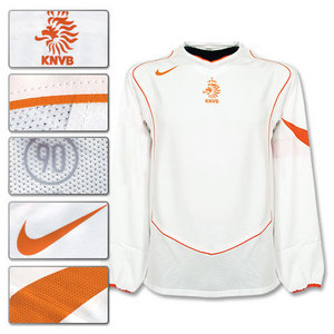 04-06 Holland Away L/S (CODE-7 PLAYER ISSUE)