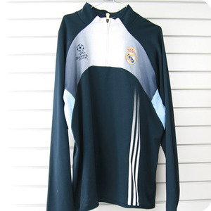[중고][Used] 03-04 Real Madrid UCL(Champions League) Harf-Zip Training Top