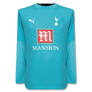 06-07 Tottenham Away L/S + 9 BERBATOV + Premier League Patch( Size:M)