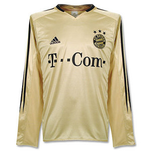 04-06 Bayern Munich Away L/S