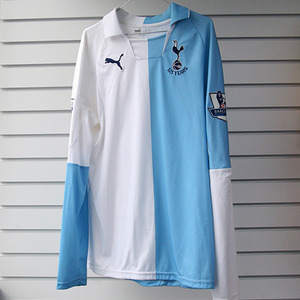 07-08 Tottenham Hotspur 125 Yrs Aniversery Special Edition L/S + 9 BERVATOV + P/L Patch (Size:M)