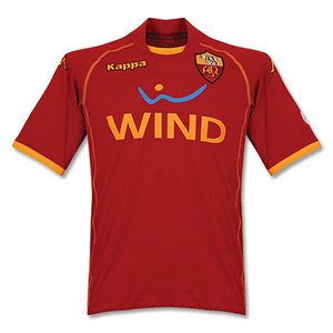 08-09 AS Roma Home(Player Issue Version) + 19 J.BAPTISTA