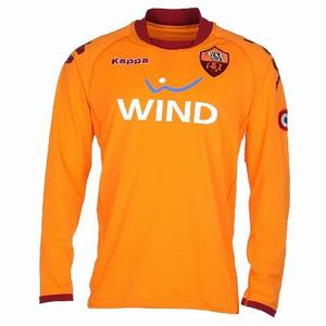 08-09 AS Roma Home GK L/S(Player Issue Version)