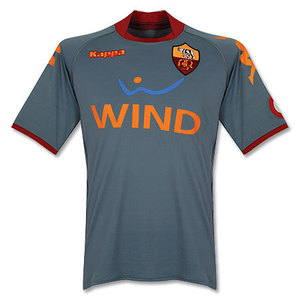 08-09 AS Roma Away GK (Player Issue Version)