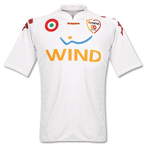 07-08 AS Roma Away (Player Issue Version) + 20 PERROTTA