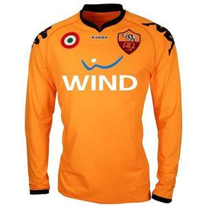 07-08 AS Roma Home GK L/S(Player Issue Version) + 5 MEXES