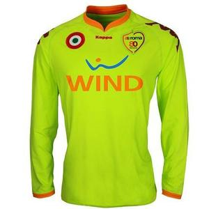 07-08 AS Roma Away GK L/S(Player Issue Version) + 10 TOTTI