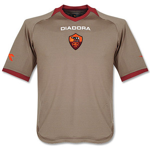 06-07 AS Roma 3rd(Authetic) + 10 TOTTI + Champions League (Size:L)