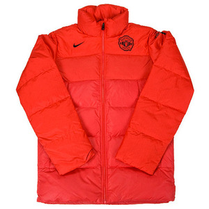 11-12 Manchester United J.S. Park Down Jacket - Red