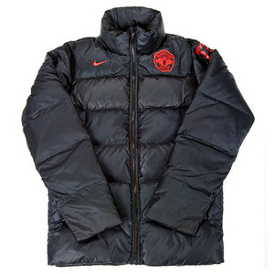 11-12 Manchester United JiSung Park Down Jacket - Black