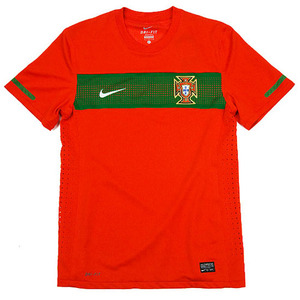 10-11 Portugal Home Authentic Jersey - Limit Edition / Authentic