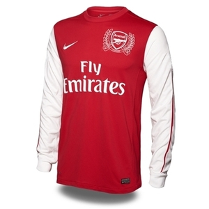11-12 Arsenal(AFC) Authetic Home L/S(125th Anniversary)