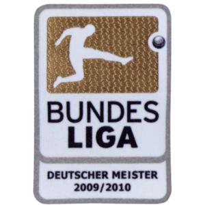 09-10 Bundes Liga Mesister Patch(For 10-11 B.Munchen)