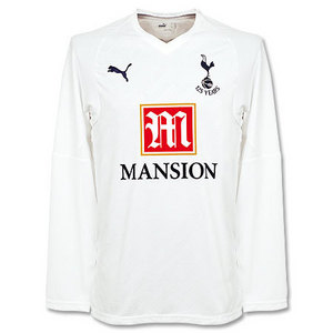 07-08 Tottenham Hotspur Home L/S(125 Yrs Aniversery)