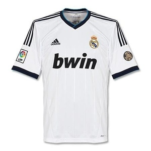 12-13 Real Madrid Home - 110 Years Anniversary