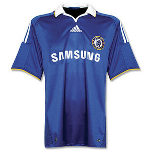 07-08 UCL(Champions League) Final Match Chelsea Home(With 07/08 C/L Final Match MDP Embroidery) (Size:M)