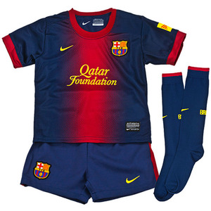 12-13 Barcelona Home Little Boys Kit