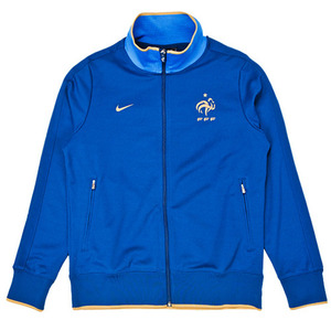 12-13 France Authentic N98 Jacket (Blue/Gold)