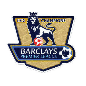 11-12 Premier League Champions  Patch (For 12-13 Manchester City)