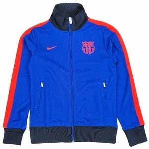 [Order] 12-13 Barcelona(FCB) Authentic N98 Jacket (Deep Royal Blue/Challenge Red)