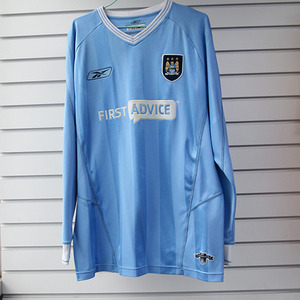 [중고][Used] 03-04 Manchester City Home L/S