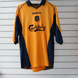 [중고][Used] 00-01 Liverpool Away + 10 OWEN