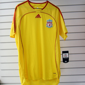 06-07 Liverpool Away(Authentic  / Player Jersey / FORMOTION)