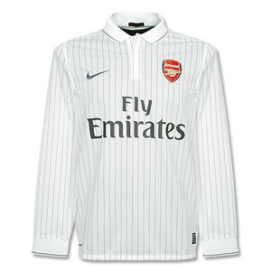 09-10 Arsenal 3rd L/S + 7 ROSICKY + Premier League Patch