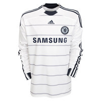 09-10 Chelsea 3rd L/S (Authentic /Player Issue /FORMORTION)