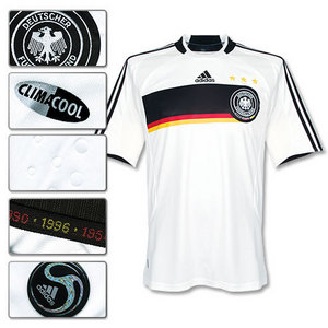 07-09 Germany Home + 13 BALLACK (Size:M)