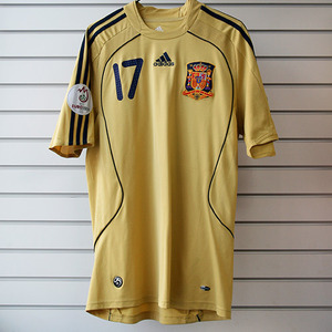 07-09 Spain Away + 17 JOAQUIN + Euro2008 + RESPECT Patch