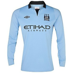 [Order] 12-13 Manchester City Home L/S