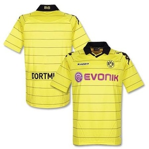 10-11 Borussia Dortmund Home (Authentic)