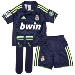 [Order]12-13 Real Madrid(RMC) Away MINI KIT (110 Years Anniversary ) - KIDS