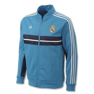 [Order] 12-13 Real Madrid Boys Anthem Jacket (Blue) - KIDS