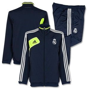 [Order] 12-13 Real Madrid Training Presentation Tracksuit - Noble