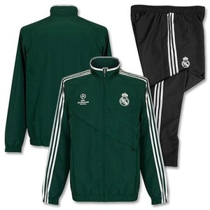 [Order] 12-13 Real Madrid UCL(UEFA Champions League) Training Presentation Tracksuit - Green