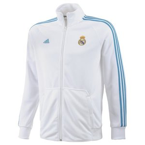 [Order] 12-13 Real Madrid Core Track Top - White