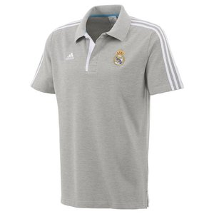 [Order] 12-13 Real Madrid Polo Shirt - Grey