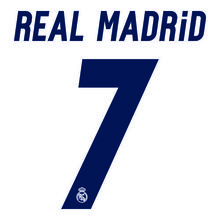 16-17 Real Madrid Home Printing