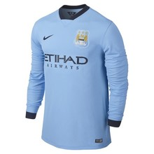 [Order] 14-15 Manchester City Boys UCL (Champions League) Home L/S - KIDS