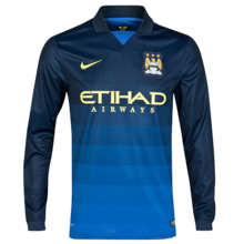 [Order] 14-15 Manchester City Boys UCL (Champions League) Away L/S - KIDS