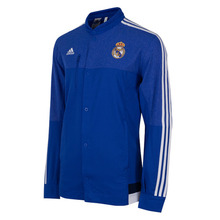 [해외][Order] 14-15 Real Madrid Anthem Jacket - Blue
