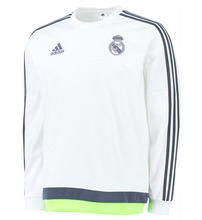 [해외][Order] 15-16 Real Madrid Sweat Top - White