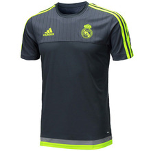 [해외][Order] 15-16 Real Madrid (RCM) Training Jersey (Deepest Space/Solar Yellow/Grey) - adizero