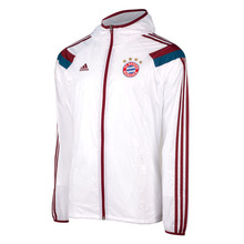 14-15 Bayern Munchen Anthem Jacket - White