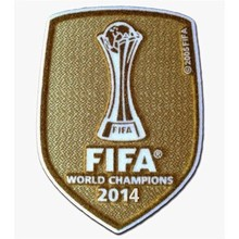 2014 World Champion Patch (For 14~16 Real Madrid)
