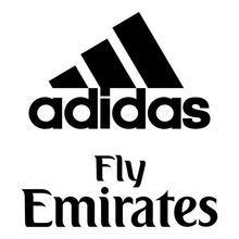 Back Spon | ADIDAS/Fly Emirates (White/Navy/Silver/Gold/Blue)