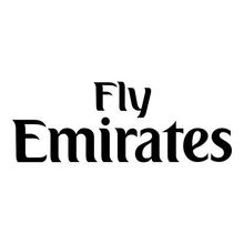 Front Small Spon | Fly Emirates (White/Navy/Silver/Gold/Blue)