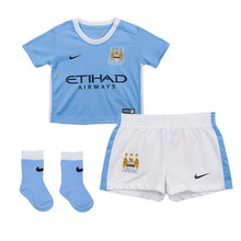 [해외][Order] 15-16 Manchester City Home Baby Kits - INFANT